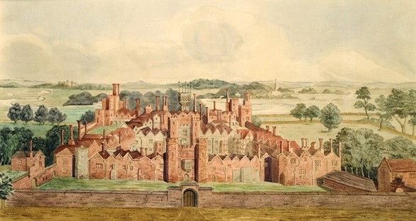 A-17th-century-view-of-Oatlands-Palace