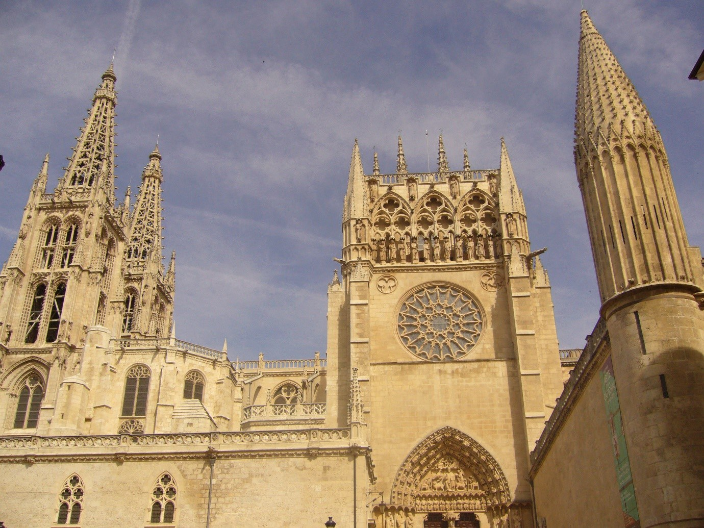 Burgos Cathedral Where Marguerite Married Prince Juan © Tudor Times Ltd