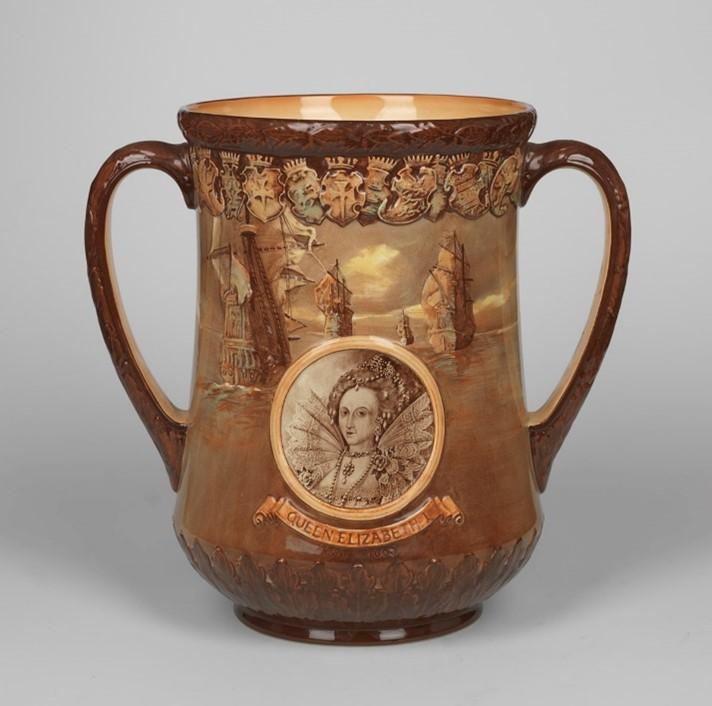Coronation Mug Queen Elizabeth I © Npg
