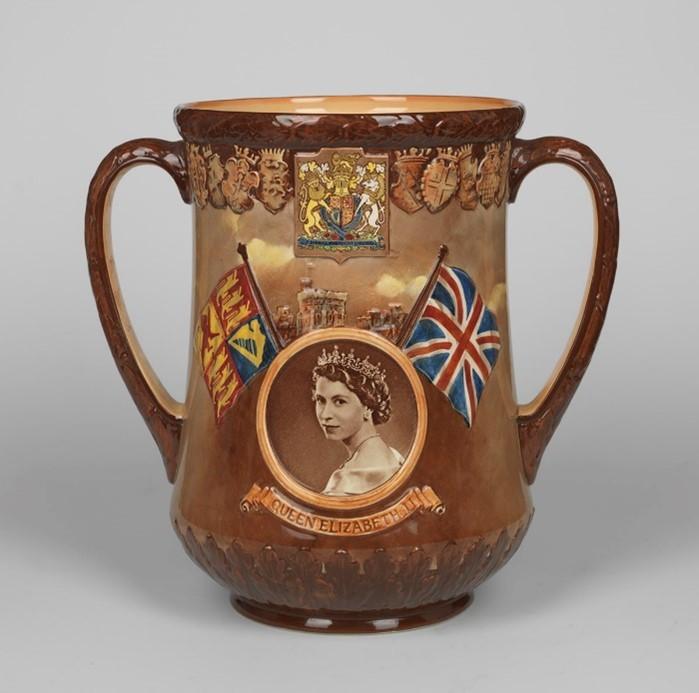 Coronation Mug Queen Elizabeth Ii © Npg