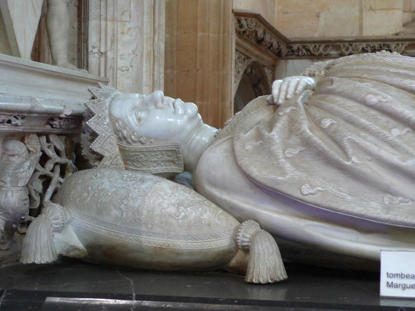 Effigy Of Marguerite Of Austria Brou