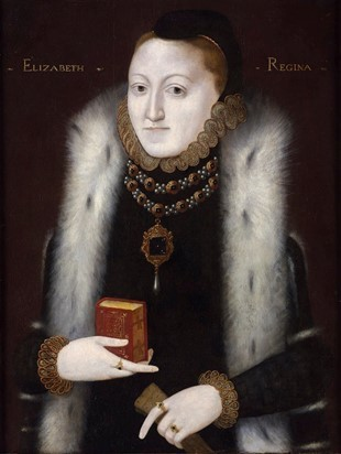 Elizabeth I A Clopton Type Painting From Around 1560 65