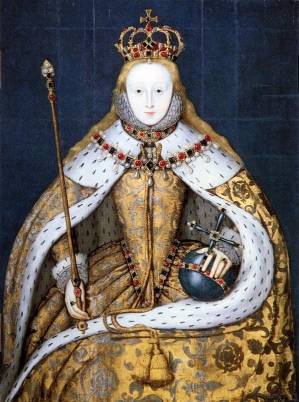 Elizabeth I In Coronation Robes © Npg