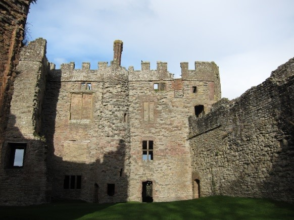 Ludlow-Castle-where-12-year-old-Mary-presided-over-the-Council-of-the-Marches-as-de-facto-Princess-of-Wales
