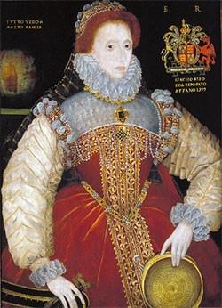 The Plimpton Sieve Portrait Attrib  George Gower © C 1579 Folger Shakespeare Library