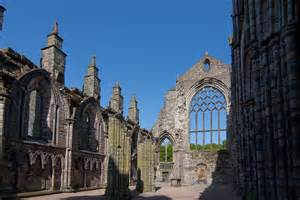 The-remains-of-Holyrood-Abbey-where-James-IV-married-Margaret-of-England-on-8th-August-1503