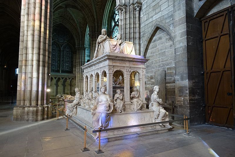 Tomb Of Louis Xii And Anne Of Brittany By Guilhem Vellut From Paris France