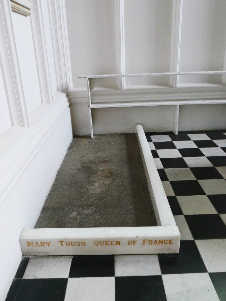 Tomb Of Mary Tudor Queen Of France Church Of St Mary Bury St Edmunds