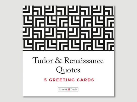 Tudor & Renaissance Quotes Greeting Cards