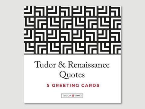 Tudor & Renaissance Quotes Greeting Cards
