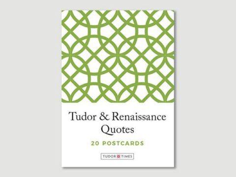Pack of Tudor & Renaissance Quotes Postcards