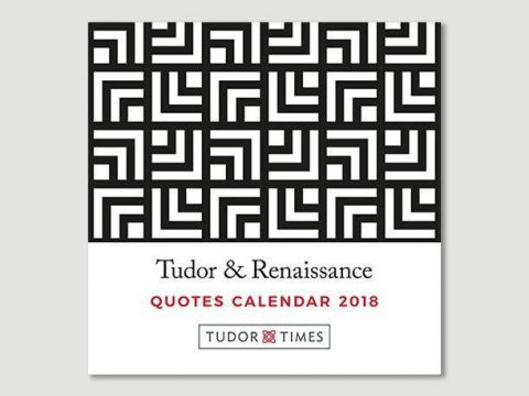 Tudor & Renaissance Quotes Mini Calendar 2018