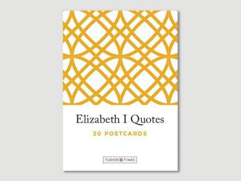 Pack of Elizabeth I Quotes Postcards