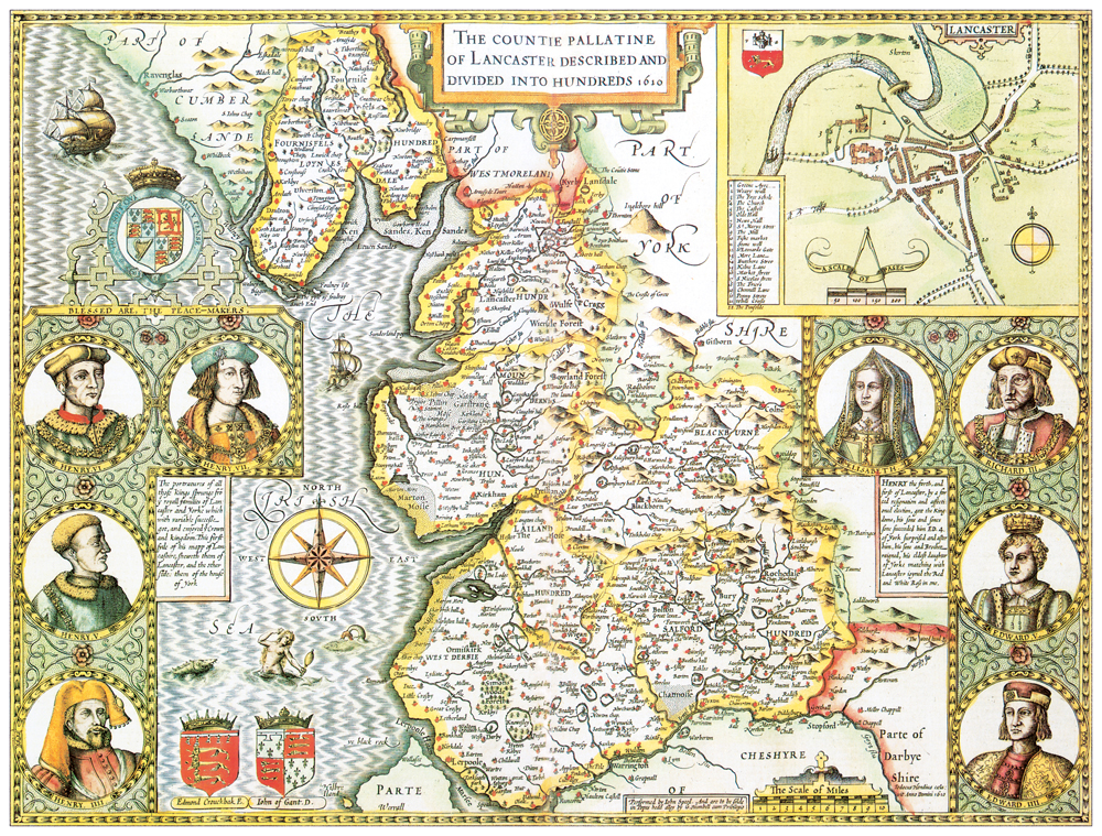 From Britains Tudor Maps 1