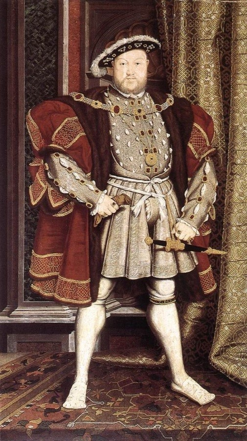 Henry-VIII-–-doublet-skirted-jerkin-and-gown