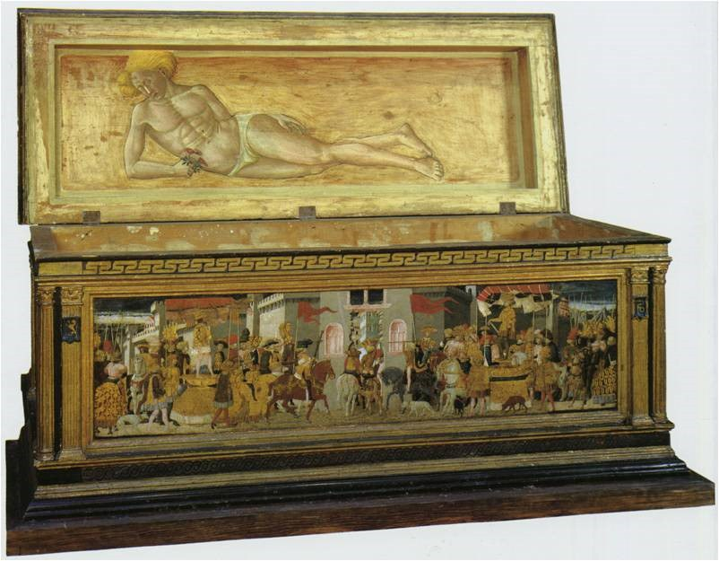 Image Of A Turin Bridal Chest Or Cassone