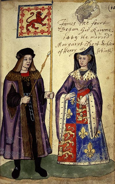 James-IV-and-Margaret-Tudor