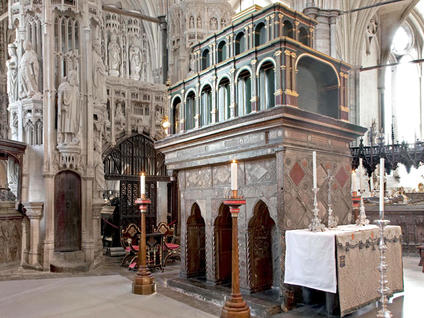 Shrine-of-Edward-the-Confessor-Westminster-Abbey.-In-Annes-day-it-would-have-been-encrusted-with-jewels.