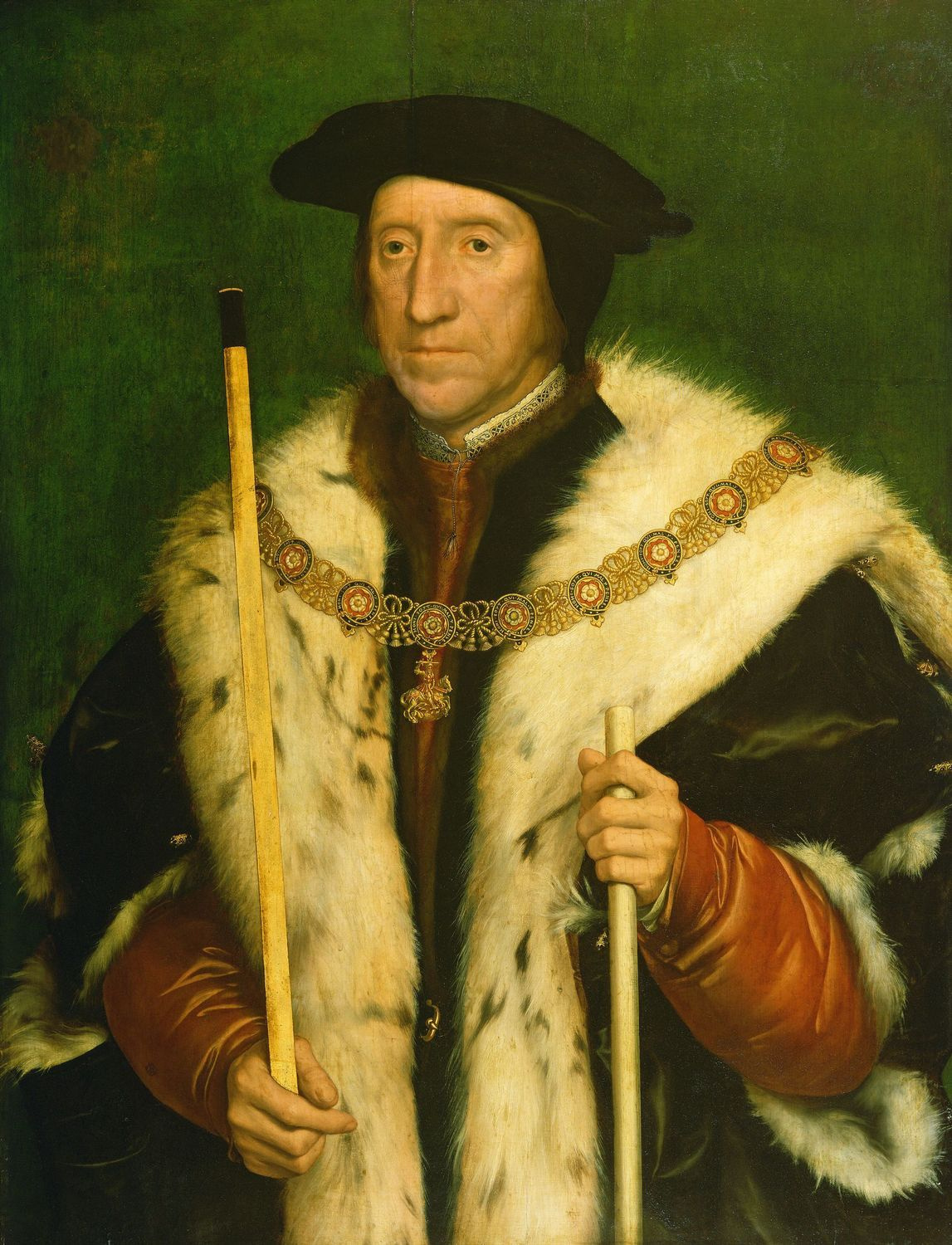 Thomas Howard third Duke of Norfolk by Hans Holbein the Younger