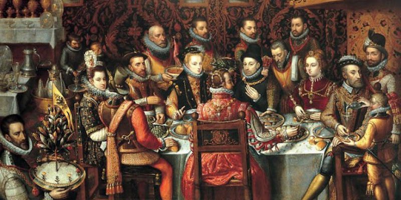 Life for the rich in tudor times