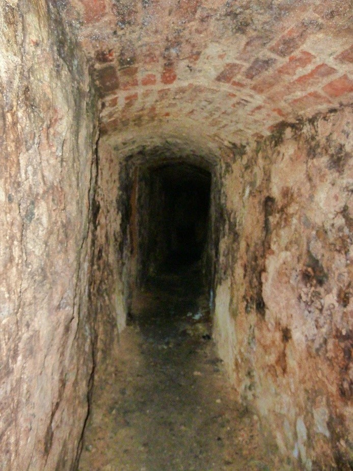 Entrance To The Tenby Tunnels