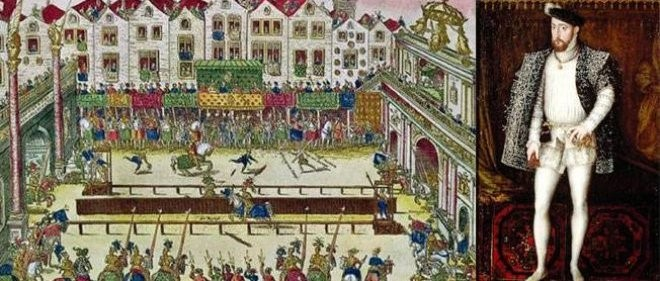 Wounding-of-Henri-II-at-a-Tournament-30th-June-1559