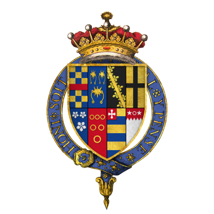 Coat-of-Arms-of-Sir-Henry-Clifford-1st-Earl-of-Cumberland-KG-by-Rs-nourse-Own-work.-Licensed-under-Creative-Commons-Attribution-Share-Alike-3.0-via-Wikimedia-Commons