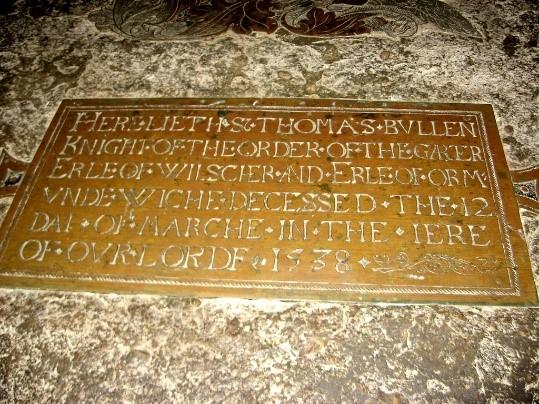 Burial-plaque-for-Sir-Thomas-Boleyn-Earl-of-Wiltshire-Ormonde