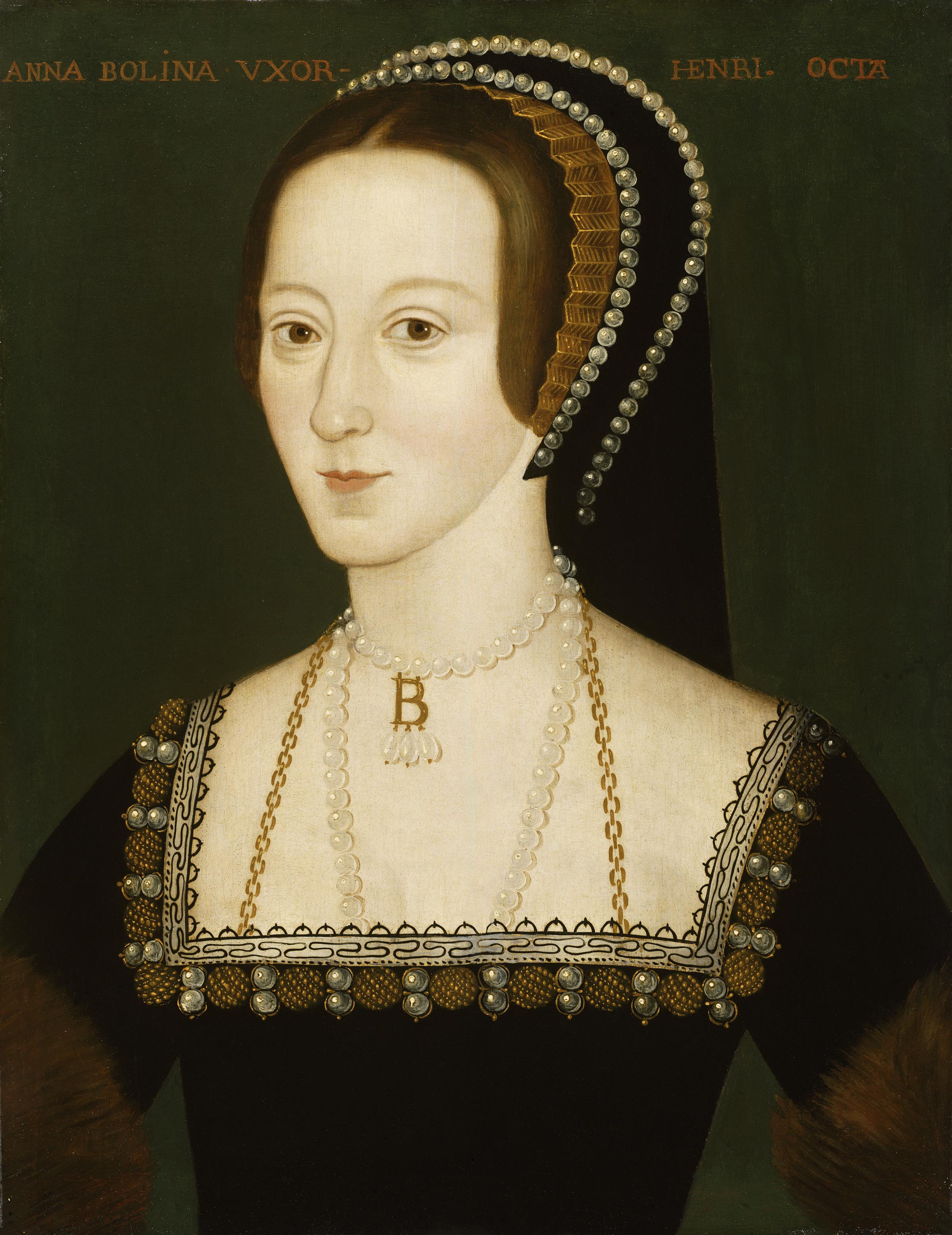 Anne Boleyn Copyright National Portrait Gallery London