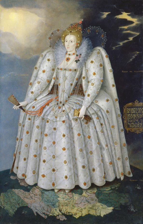Elizabeth I Ditchley Portrait Copyright National Portrait Gallery