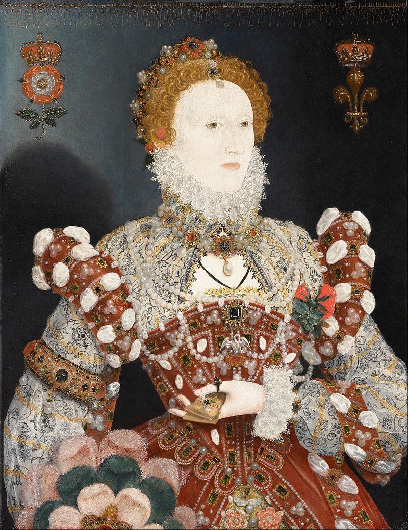 Elizabeth By Hilliard Pelican Portrait