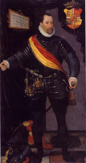 Frederick Ii King Of Denmark Norway 1534 – 1588 Probably By Hans Kneiper