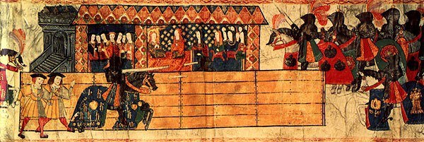 Katharine Of Aragon And Her Ladies Watching Henry Viii Joust