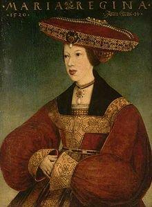 Marie De Hongrie 1520