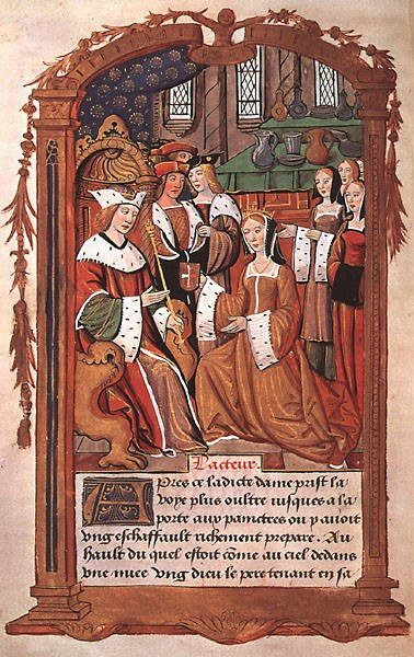 Mary The French Queen With Her Attendants
