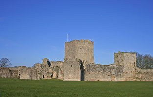 Portchester Castle © English Heritage