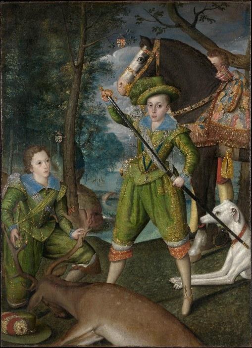 Prince Henry And John Harington Robert Peake The Elder – Metropolitan Museum Of Art New York