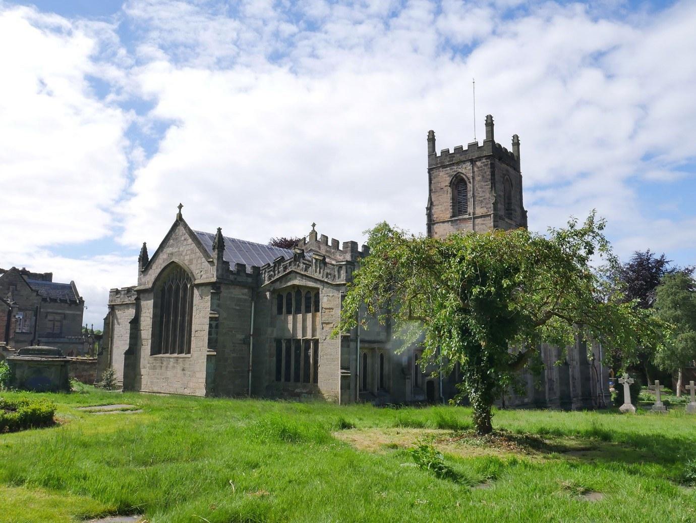 St Helen'S Church Ashby De La Zouche Lady Katherine Hastings' Burial Location © Tudor Times Ltd