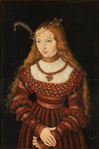 Sybille Of Cleves Anne'S Sister By Cranach