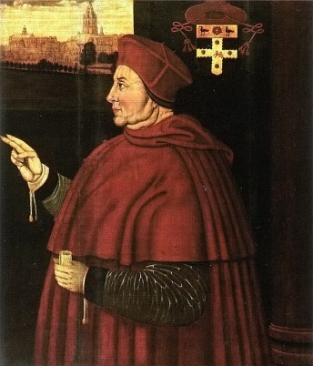 Thomas-Wolsey-Cardinal-of-York-and-Marys-godfather