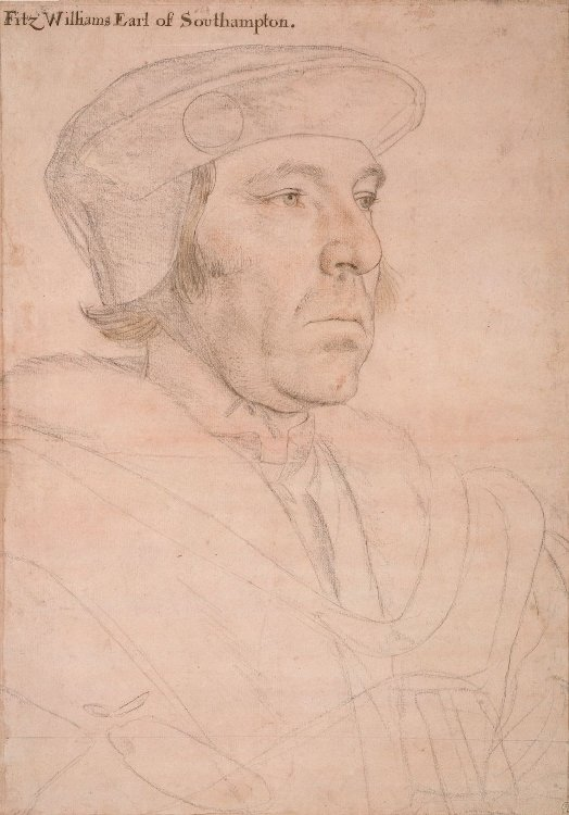 William Fitzwilliam Earl of Southampton by Hans Holbein the Younger