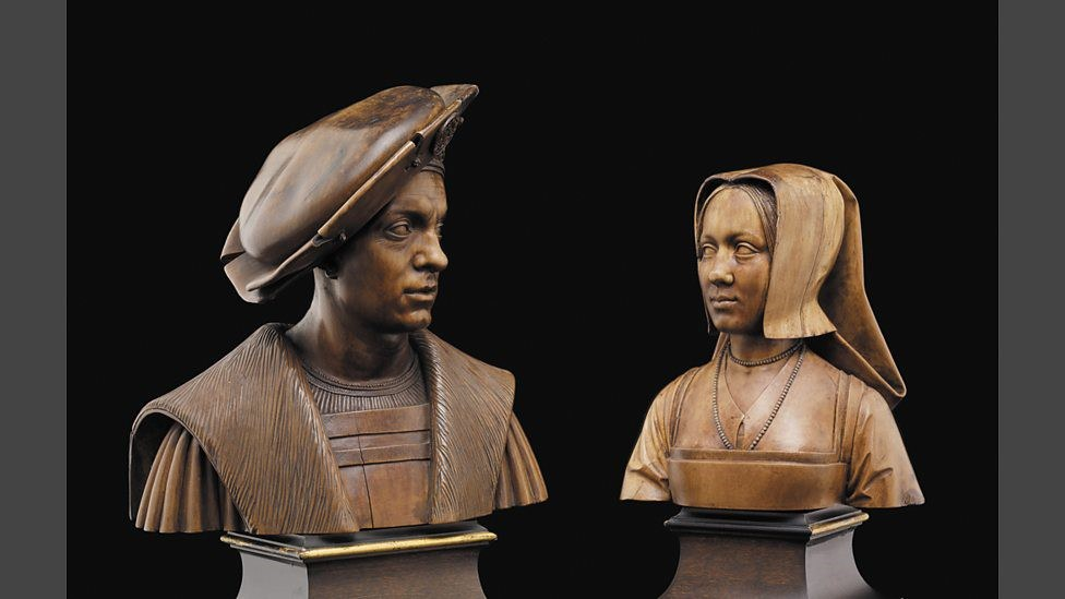 Busts Of Marguerite And Philibert The Waddesdon Bequest © The Trustees Of The British Museum
