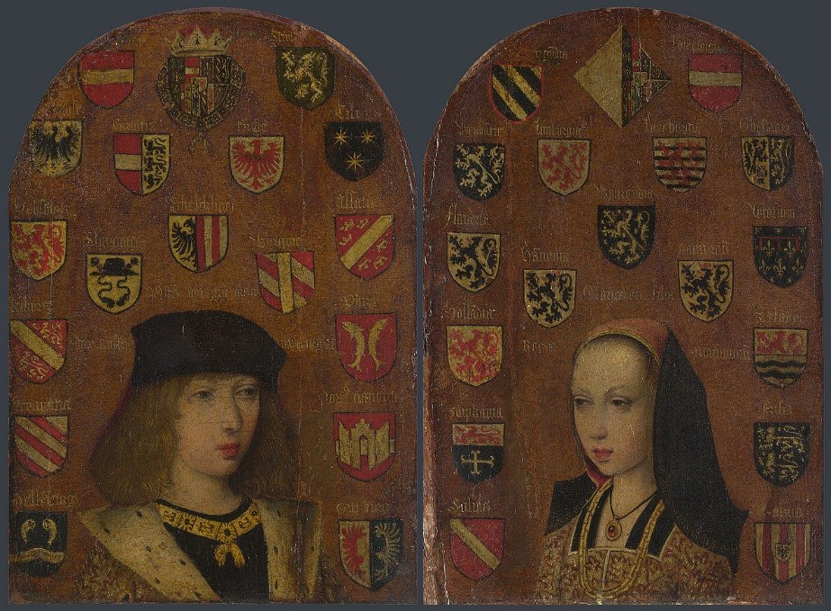 Philip The Fair And Marguerite Of Austria C 1494 Pieter Van Coninxloo © The National Gallery