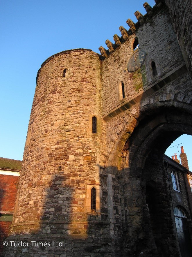 Rye Gate Tower Copyright Tudor Times Ltd