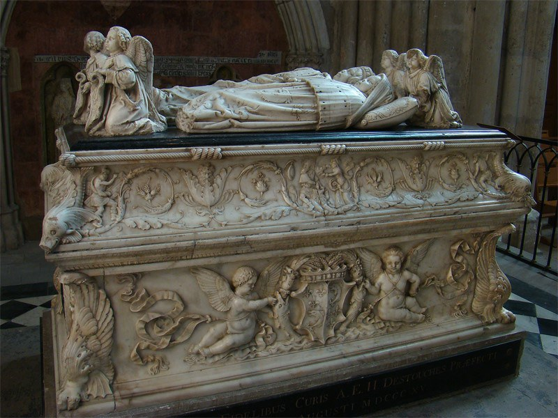 Tomb Of Anne Of Brittany And Charles Viii'S Children In Tours Cathedral Sculptor Michel Colombe Photo 2008 09 22 Gfdl Commons Wikimedia