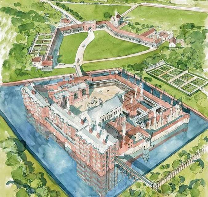 © English Heritage – Reconstruction Of Eltham C 1604