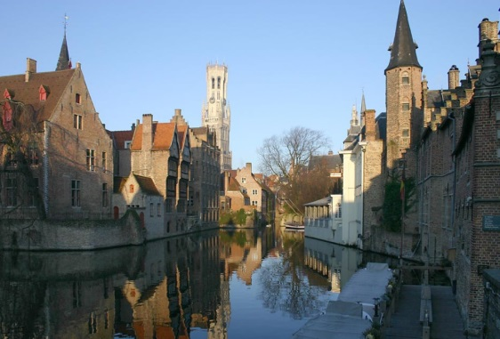 Bruges-where-a-treaty-was-agreed-between-England-and-the-Empire-in-1521