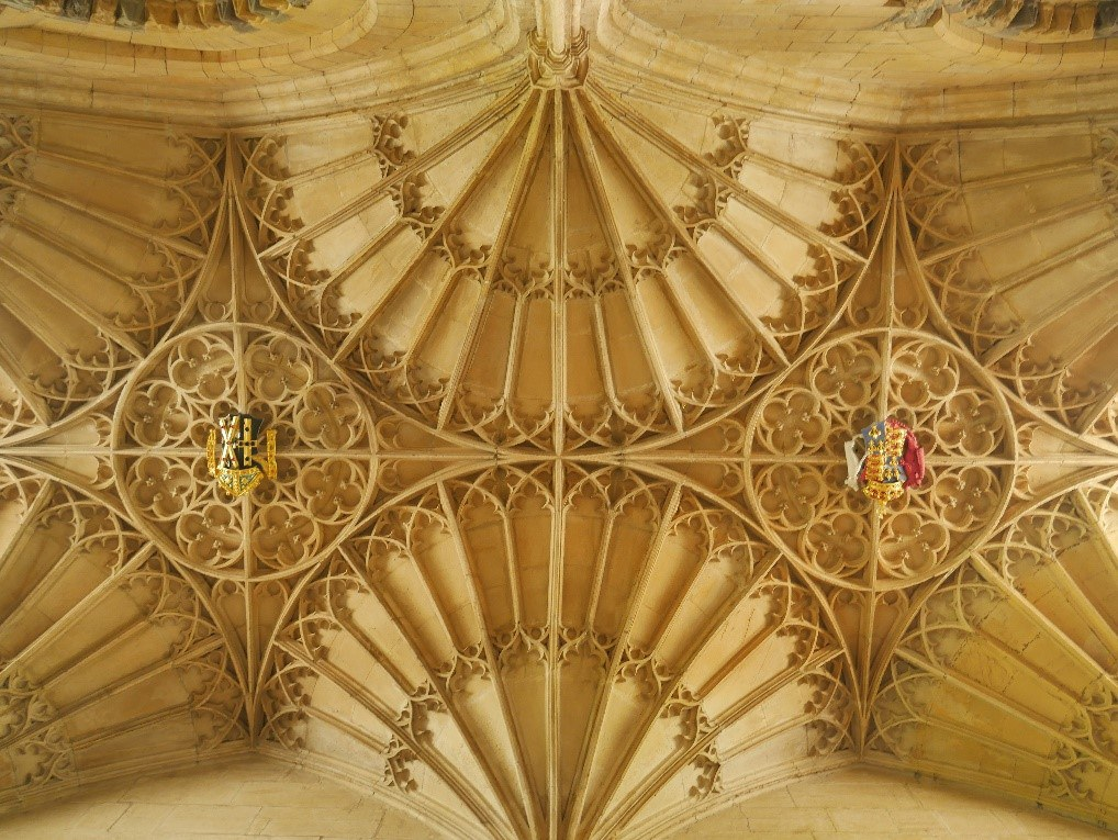 Ceiling Of Bishop Edward Vaughan'S Sixteenth Century Additions St David'S Cathedral © Tudor Times Ltd 2019