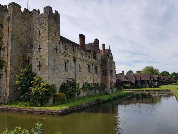 East Range Hever Castle With Tudor Village Reduced 2