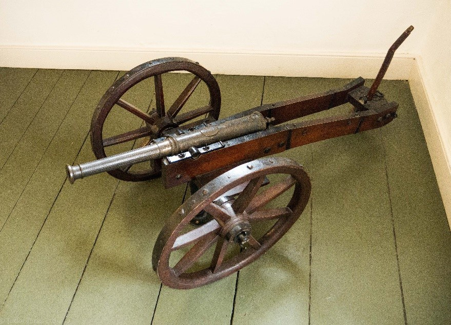 French Cannon Given By Mary To The Kerr Family © Tudor Times Ltd 2017